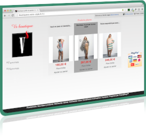 Boutique Vs, thême Prestashop