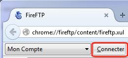 FireFTP-Connecter serveur