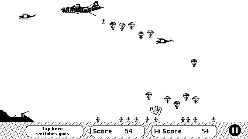 Airborne en action