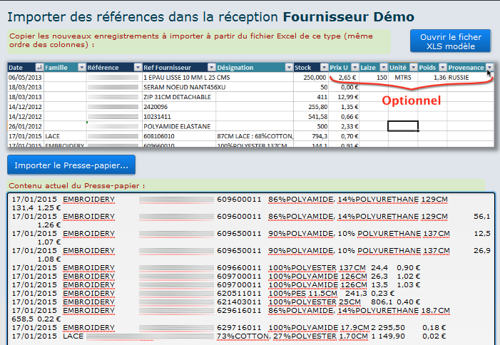 gestion de stock sous filemaker pro