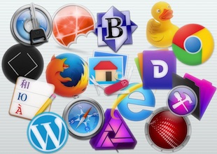 Icônes de logiciels Mac