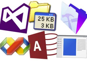 Icônes logiciels Windows
