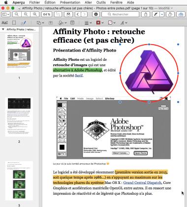 Astuce macOS : enregistrer en PDF une page web pour l