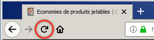 Rechargement sur Firefox 62 (Windows)