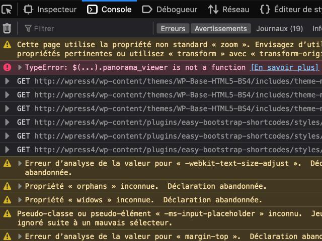 Outils de développement de Firefox : Console