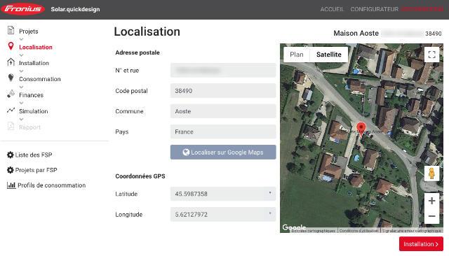 Fronius France : logiciel de simulation solaire en auto-consommation
