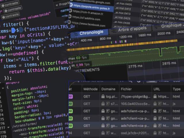 Les outils de développement des navigateurs web