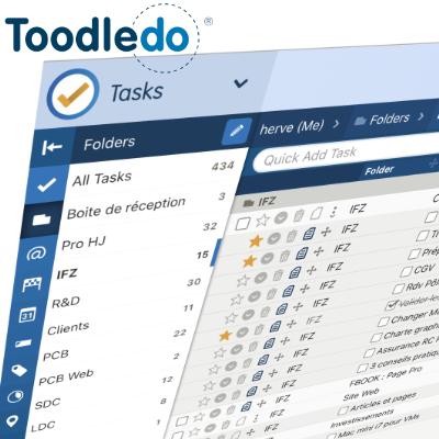 Toodledo, la GTD en pratique et partout (web, iOS, android)